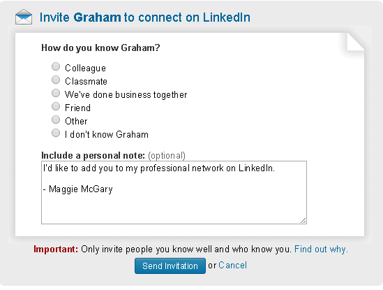 LinkedIn Drops Ability to Connect Via Groups