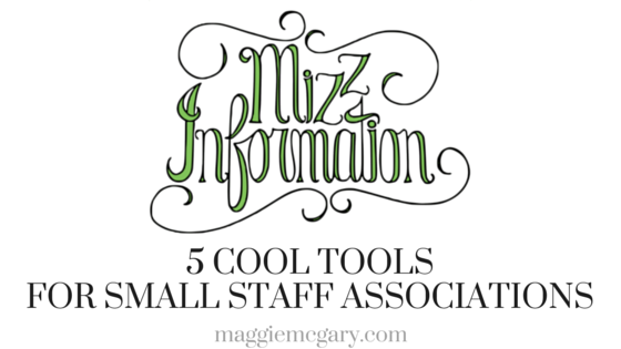 Five Cool Tools for Small Staff Associations