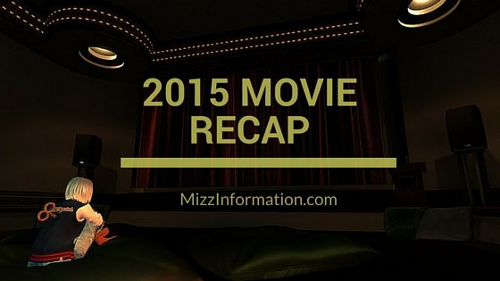 2015 Movie Recap