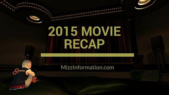 2015 Movie Recap