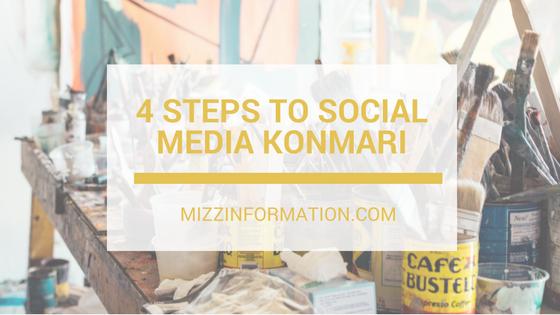 4 Steps to Social Media KonMari