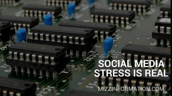 Social Media Stress is Real